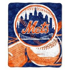 MLB New York Mets Sherpa Throw