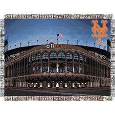 MLB New York Mets Citi Field Stadium Tapestry Throw