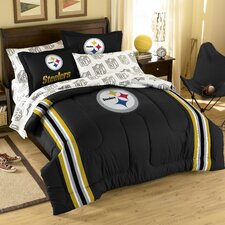 NFL Pittsburgh Steelers 7 Piece Full Bed in a Bag Set