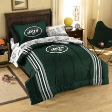 NFL New York Jets 5 Piece Twin Bed in a Bag Set