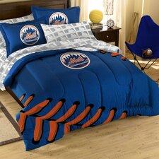 MLB New York Mets Embroirdered Full Comforter Set