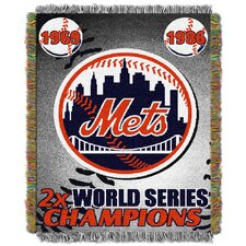 MLB New York Mets Commemorative Tapestry Throw