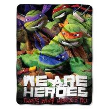 Nickelodeon TMNT - We Are Heroes Throw