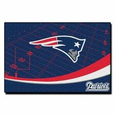 NFL New England Patriots Point Sport Novelty Rug