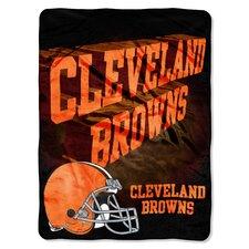 NFL Cleveland Browns Raschel Throw