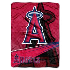 MLB Angels Super Plush Throw