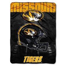 NCAA Missouri Micro Raschel Throw