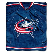 NHL Columbus Blue Jackets Super Plush Throw