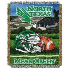 NCAA North Texas Tapestry Throw