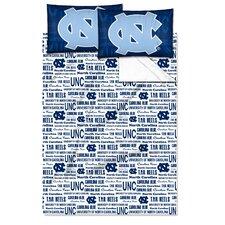 College NCAA North Carolina Sheet Set