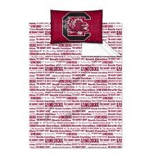 NCAA South Carolina Sheet Set