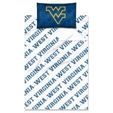 College NCAA West Virginia Sheet Set