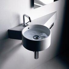 Kerasan Tao Wall Hung Bathroom Sink