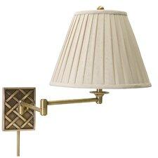 Decorative Basket Swing Arm Wall Light