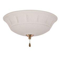 Grande 3 Light Bowl Ceiling Fan Light Kit