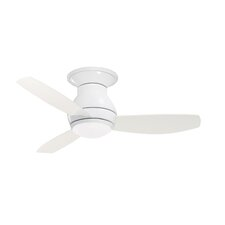"44"" Curva Sky 3 Blade Ceiling Fan with Remote"