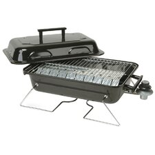 "17"" Portable Tabletop Gas Grill"