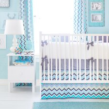 Piper 3 Piece Crib Bedding Set