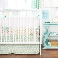 Gold Rush 3 Piece Crib Bedding Set