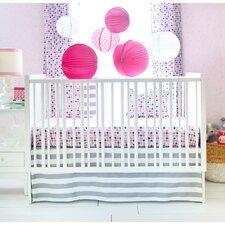 Paper Moon 3 Piece Crib Bedding Set