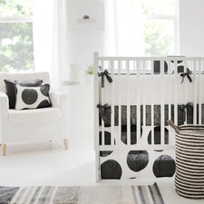 Spot On collection 4 Piece Crib Bedding Set