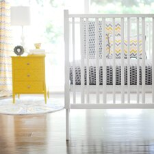Mellow Yellow 2 Piece Crib Bedding Set
