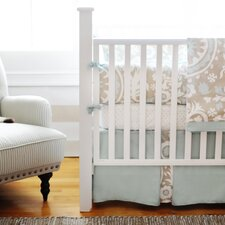 Picket Fence 3 Piece Crib Bedding Set