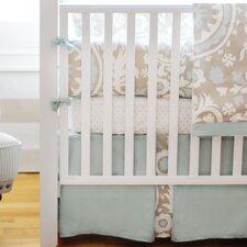 Picket Fence 4 Piece Crib Bedding Set