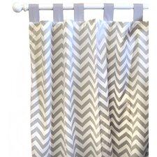 Zig Zag Baby Curtain Panel (Set of 2)