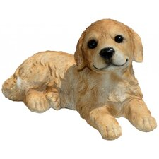 Goldie Golden Retriever Puppy Statue