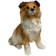 Shep Collie Puppy Statue