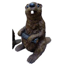 Large Beaver Statue