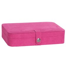 Celia Plush Fabric Jewelry Box
