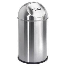 Intro 2.6-Gal Pushman Trash Can