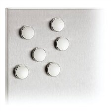 "Muro 0.8"" Magnets (Set of 6)"