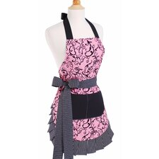 Women's Apron in Chic Pink