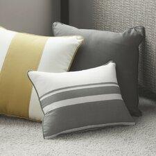 Triple Band Cotton Throw Pillow