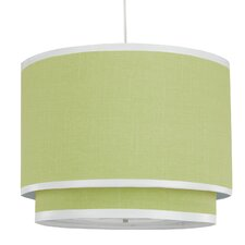 Solid 3 Light Double Cylinder Pendant
