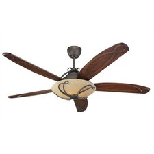 "66"" Chloe 5 Blade Ceiling Fan with Remote"