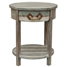 Nantucket Wood End Table I