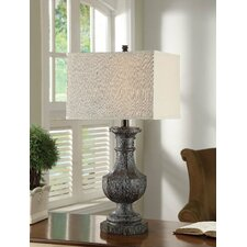 "Industria Bernard 32"" H Table Lamp with Rectangular Shade"