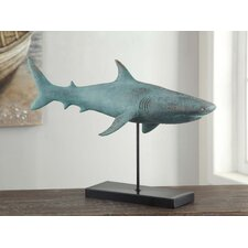 Sea Side Shark Figurine