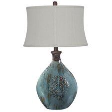 "Linnet 29.5"" H Table Lamp with Oval Shade"