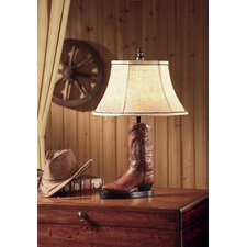"""Stetson 26.5"""" H Table Lamp with Bell Shade"""