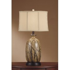 "Nigel 29.25"" H Table Lamp with Drum Shade"