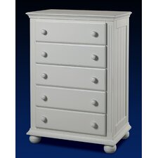 Vista 5 Drawer Chest