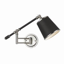 Candice Olson Scope Swing Arm 1 Light Wall Sconce