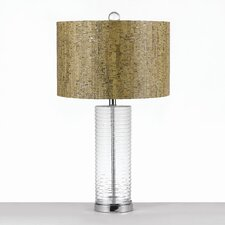"Elements 27.5"" H Table Lamp with Drum Shade"