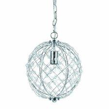 Silver Web 1 Light Pendant