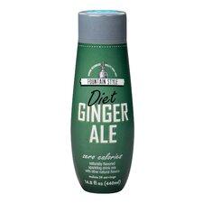 Diet Ginger Ale Sparkling Drink Mix (Set of 4)